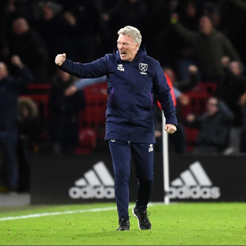 David Moyes West Ham United Shirt - Signed