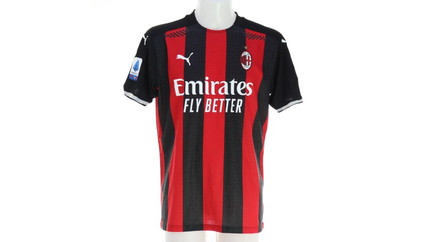 Calhanoglu's Worn Shirt, Milan-Cagliari 2020