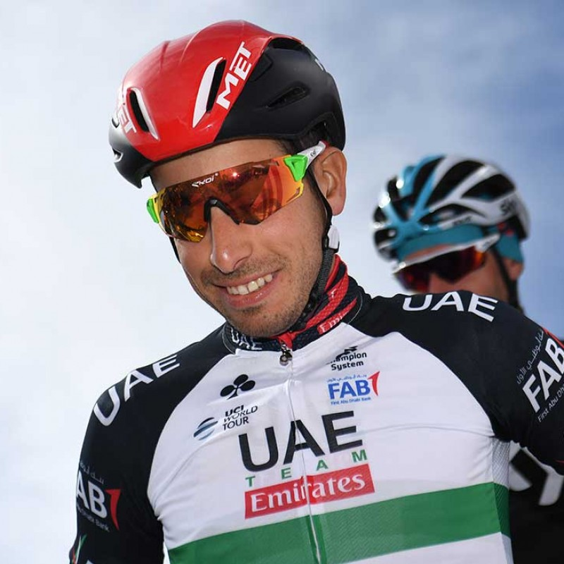 UAE Team Emirates Helmet Worn by Fabio Aru