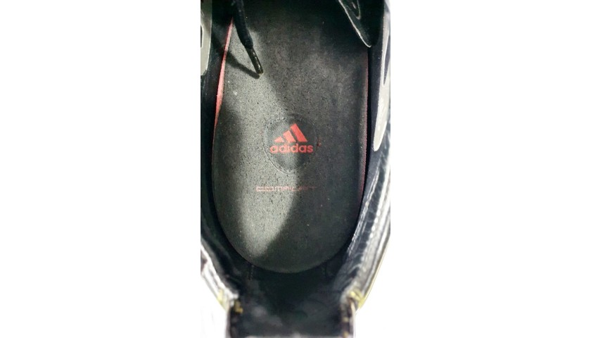 Adidas Boots Worn by Lavezzi, 2010/11 - Signed