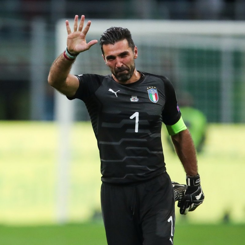 Buffon's Match-Issue Kit, Italy-Sweden 2017