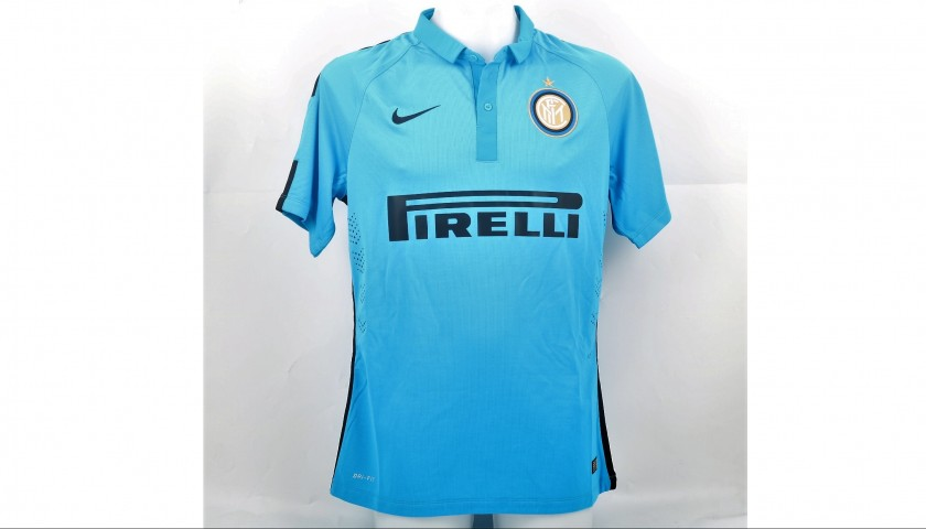 the best attitude 90194 063c7 Icardi's Match-Issued and Signed Inter Milan Shirt, 2014/15 - CharityStars