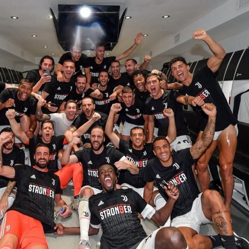 Juventus Celebratory T-Shirt, 2020 - Signed by Cristiano Ronaldo