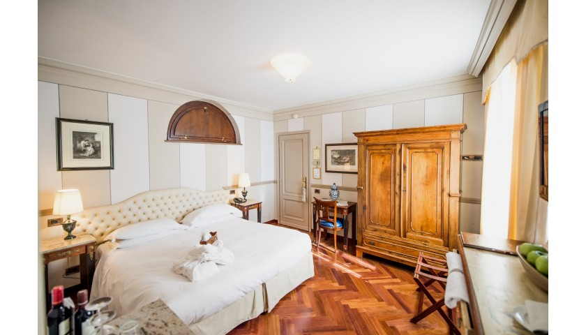 Enjoy a One-Night Stay for Two at Hotel Villa Beccaris