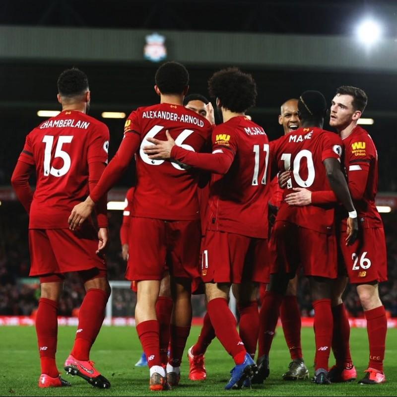 Liverpool 2019 Champions League Squad Signed Replica Shirt