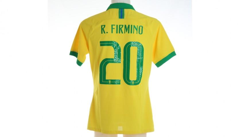 Firmino's Brazil Match Shirt, 2019