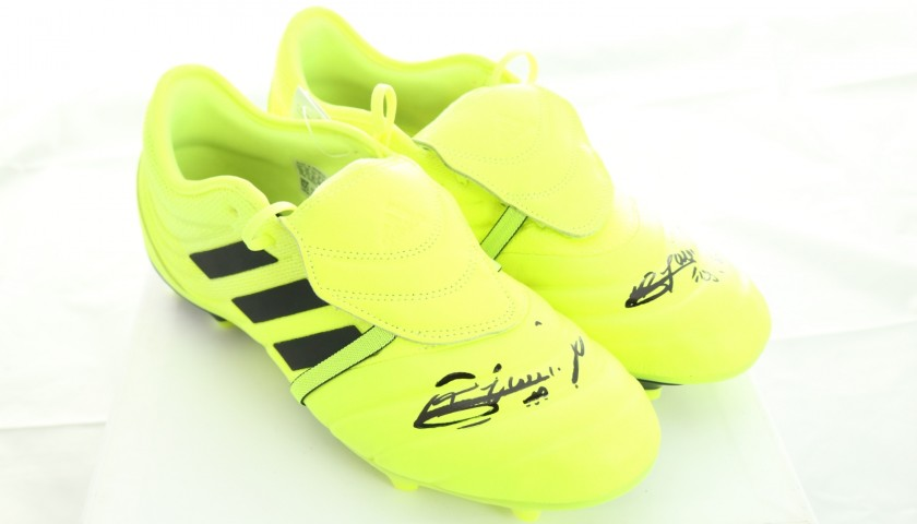 Adidas Boots - Signed by Adrien Rabiot