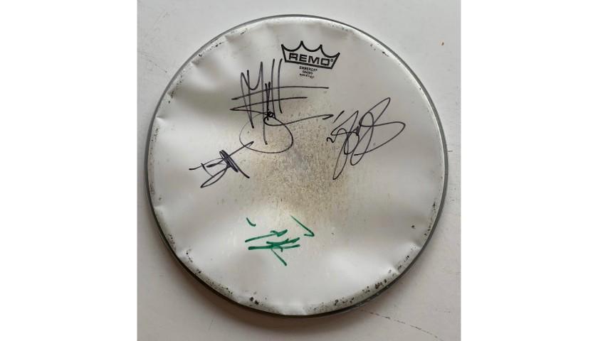Guns n Roses Fully Signed Drumskin
