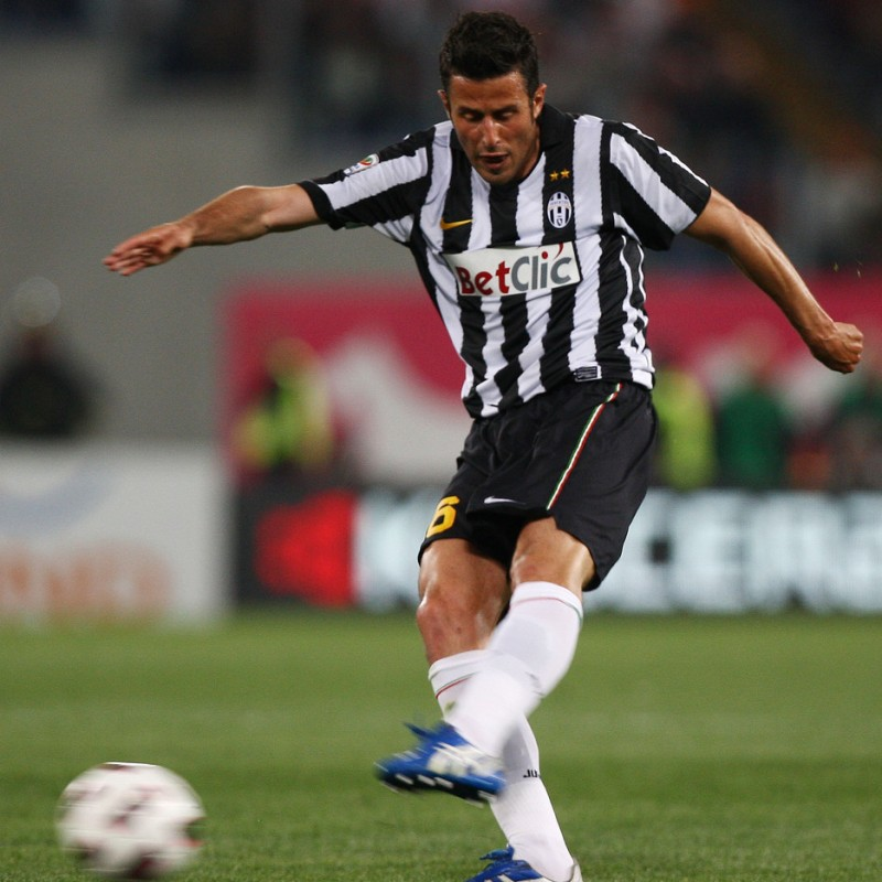 Grosso's Juventus Match-Issue/Worn Shirt, 2010/11
