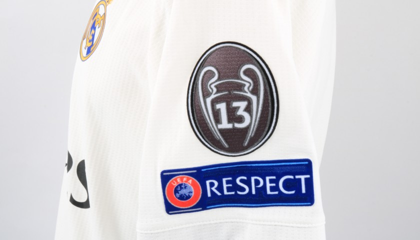 Bale's Real Madrid Match Shirt, UCL 2018/19