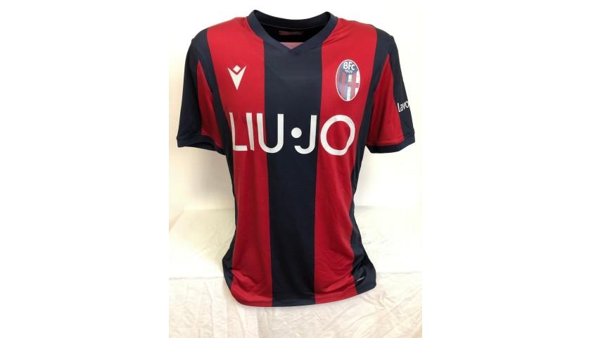 Orsolini's Official Bologna Signed Shirt, 2019/2020
