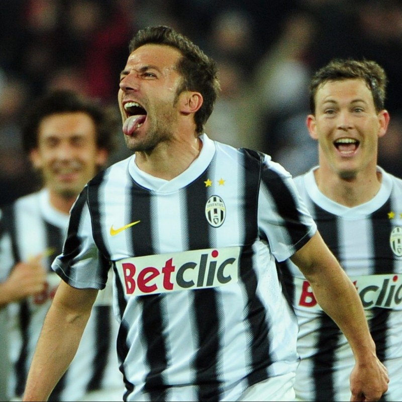 Del Piero's Juventus Match Shirt, TIM Cup 2011/12