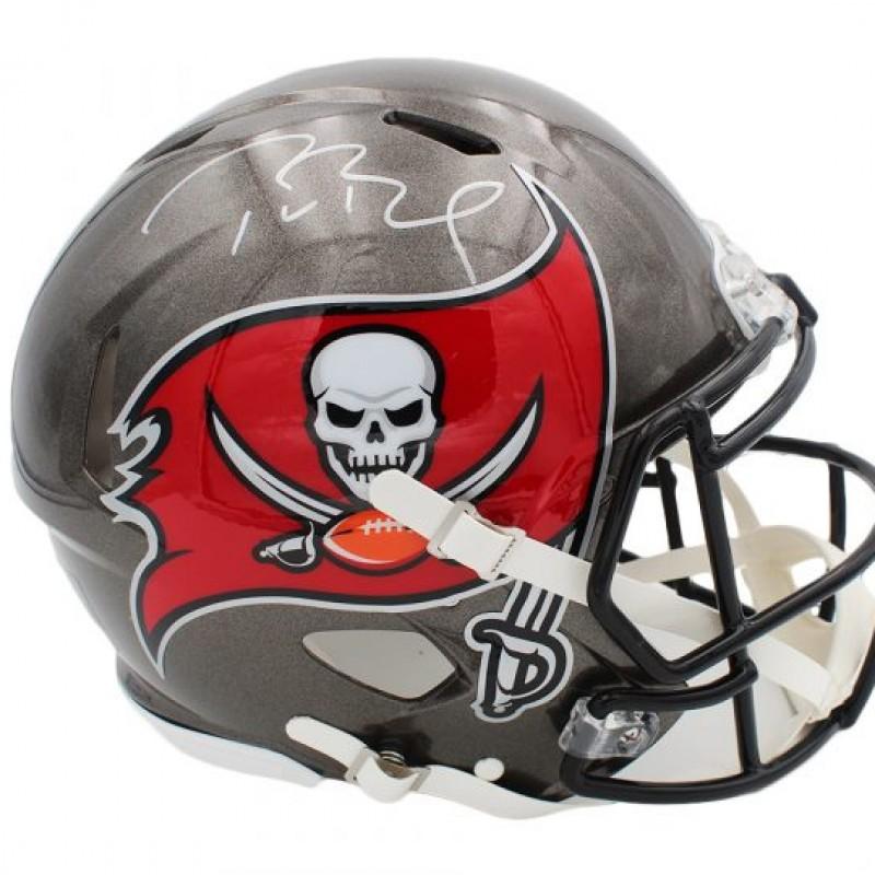 Tom Brady Signed Tampa Bay Buccaneers NFL Helmet