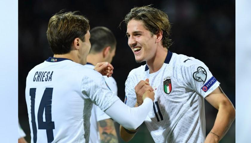 Chiesa's Match Shirt, Italy-Armenia 2019