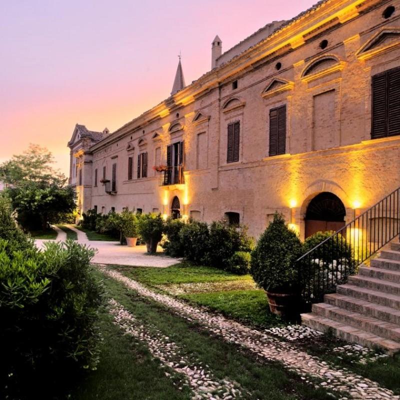 One-Night Stay for Two at Castello di Semivicoli in Abruzzo, Italy