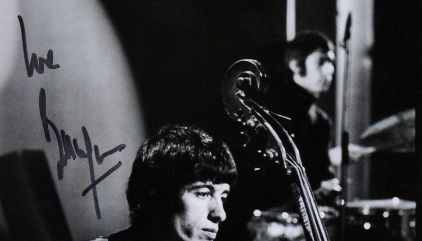 Rolling Stones picture signed by Bill Wyman