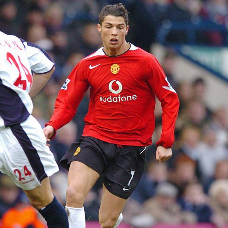 Ronaldo's Official Man Utd Signed Shirt, 2004/2005