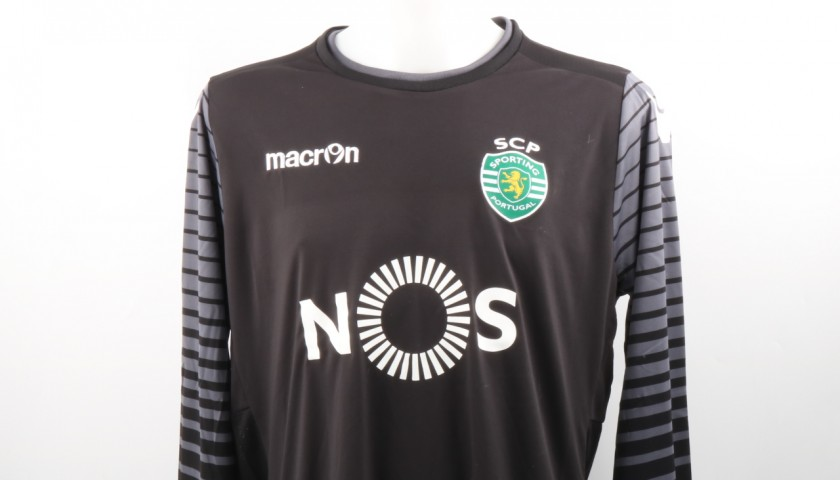 Rui Patricio Official Sporting CP Shirt, 2016/17 - Signed