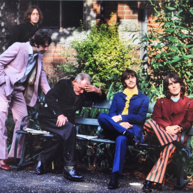 """The Beatles """"Nowhere Man"""" Framed Photograph by Tom Murray"""