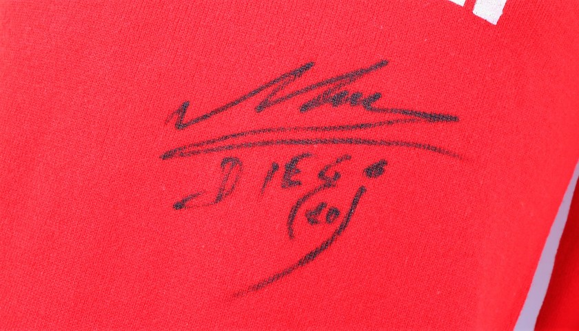 Maradona's Signed Match Kit, Napoli 1986/87