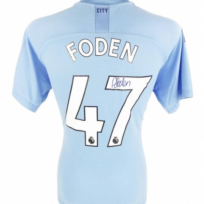 Foden's Manchester City Signed Shirt