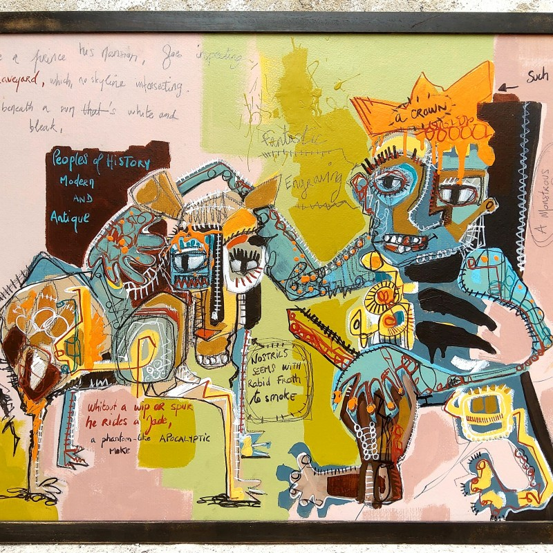 """""""Une gravure fantastique"""" by Cécile Guicheteau"""