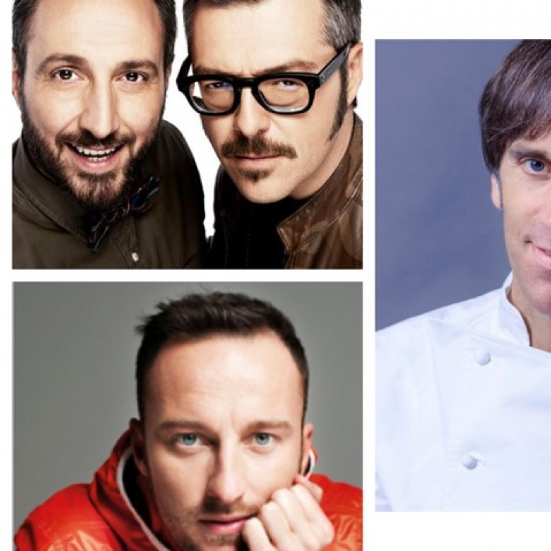 A special dinner with Andrea&Michele and Francesco Facchinetti at D'O Restaurant