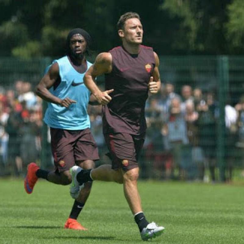 Totti's Roma Training Shirt, 2014/15