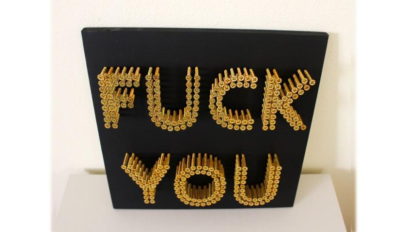 """""""Fuck You"""" by Alessandro Padovan"""