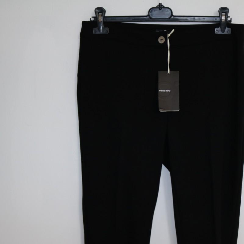 Exclusive woman black trousers ralized by Elena Mirò