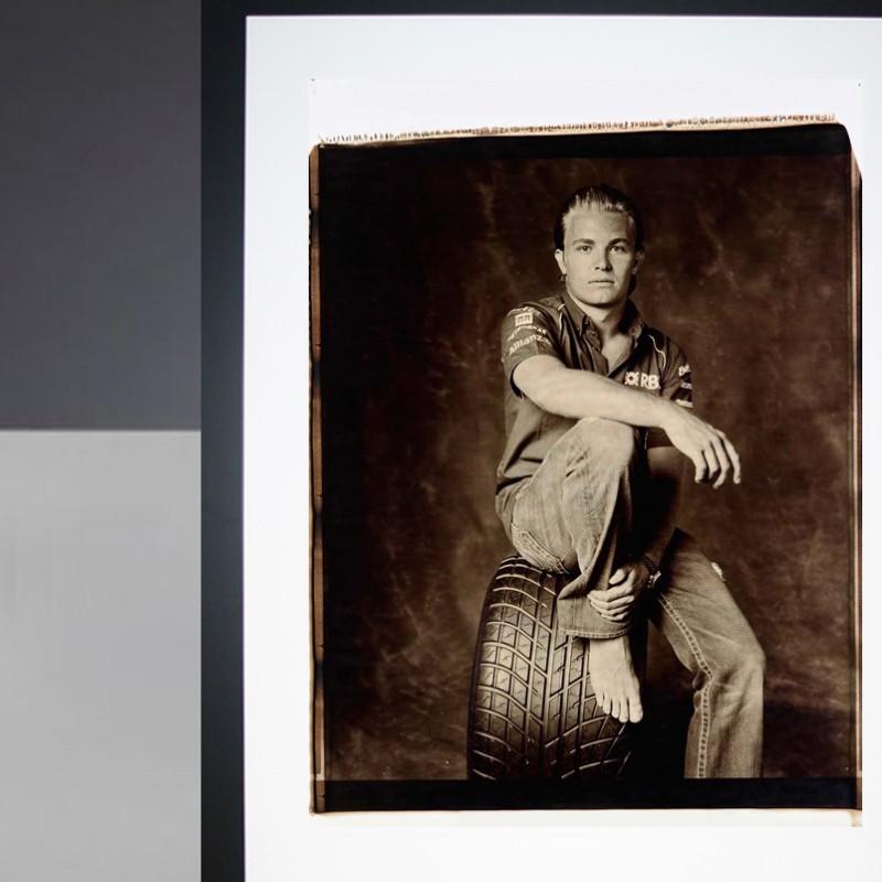 Nico Rosberg Giant Polaroid Portrait