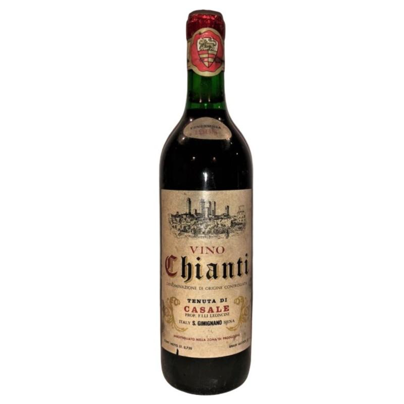 Bottle of Chianti, 1968 - Tenuta di Casale