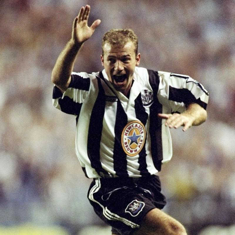Shearer's Official Newcastle Signed Shirt, 1997/98