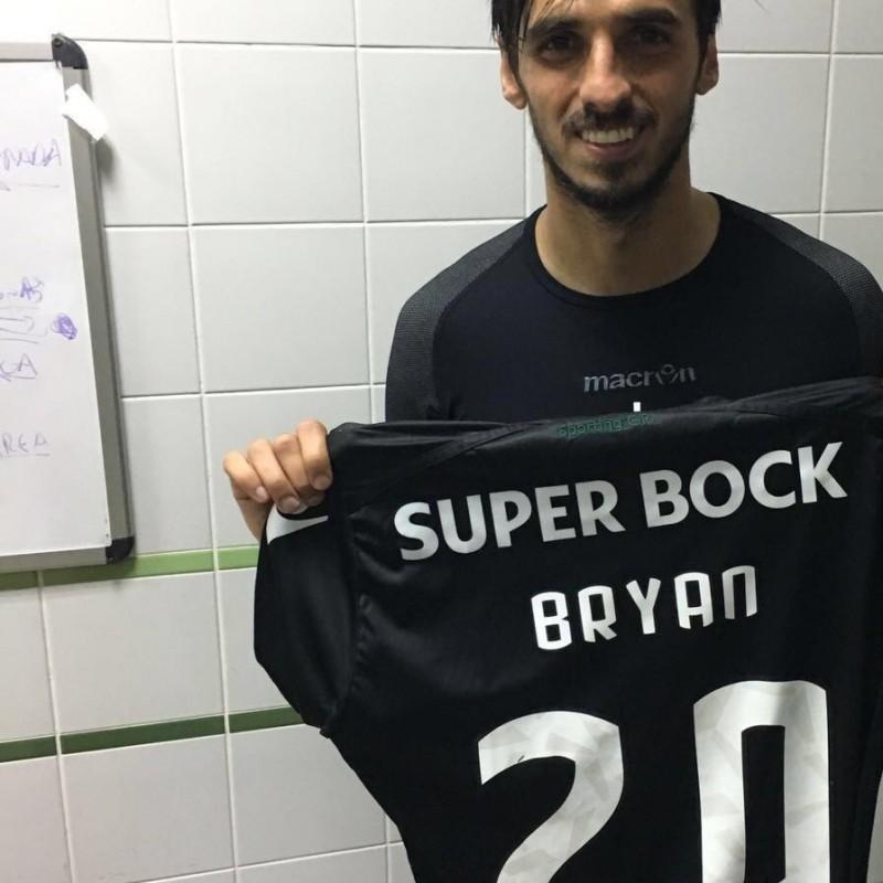 Ruiz issued/worn shirt, Moreirense-SCP Sporting CP Primeira Liga 16/04/16