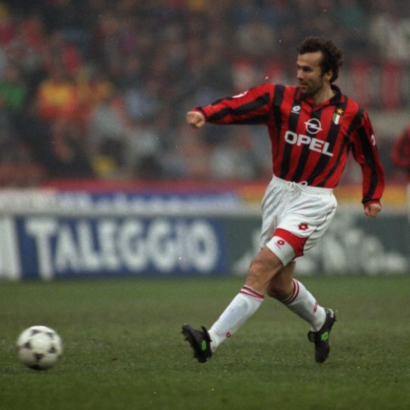 Savicevic's Signed Match Shirt, Sampdoria-Milan 1996