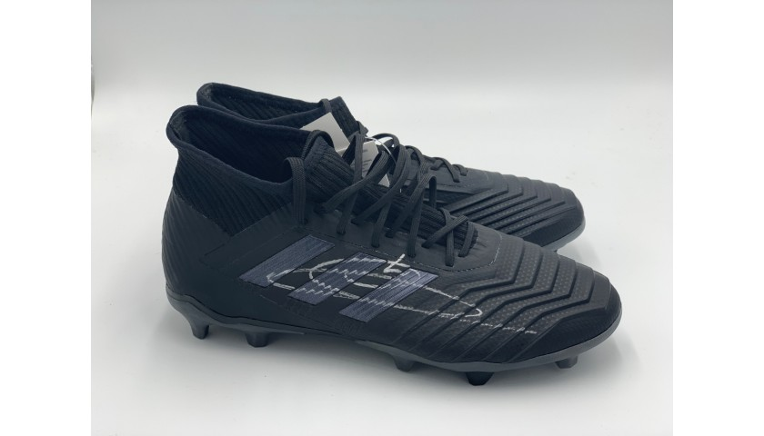 Adidas Predator Boots - Signed by Zidane
