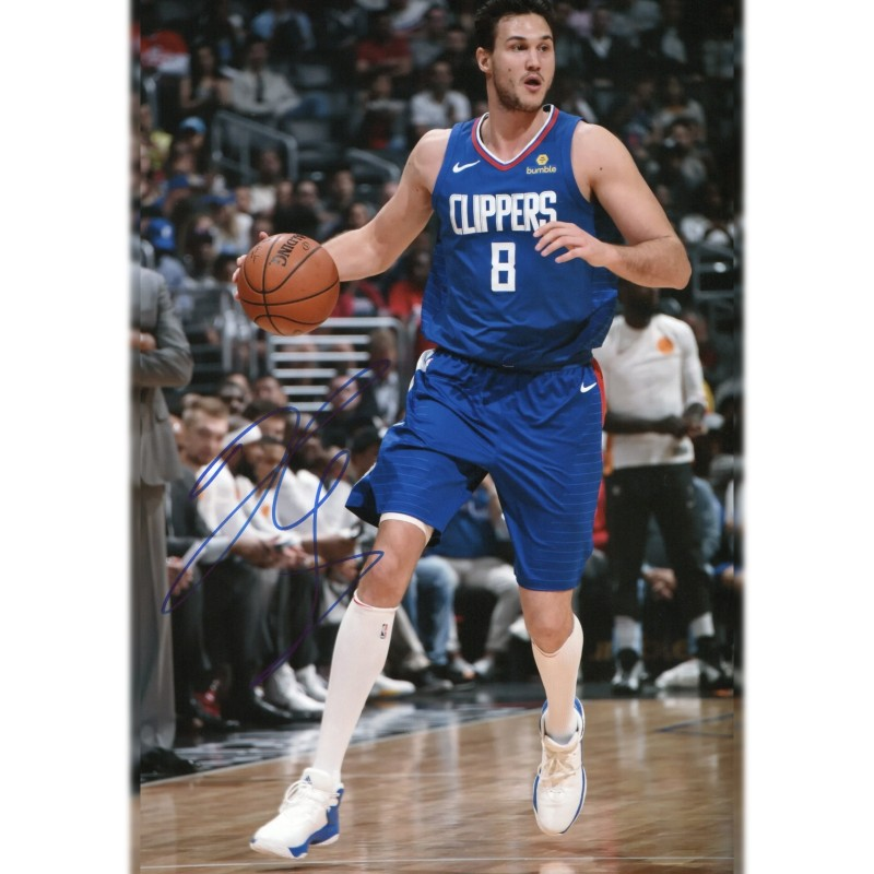 Photograph Signed by Basketball Star Danilo Gallinari