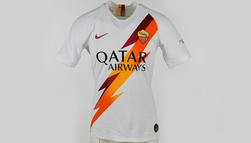 """Mkhitaryan's Worn Shirt, Roma-Parma - """"Grazie Maestro"""""""