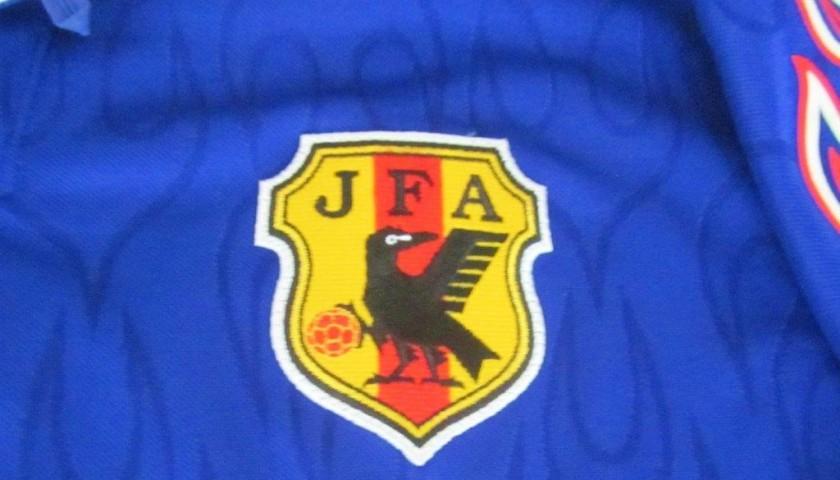 sale retailer 606fa e7b0a Nakata Japan shirt, FIFA WorldCup France 1998 - CharityStars