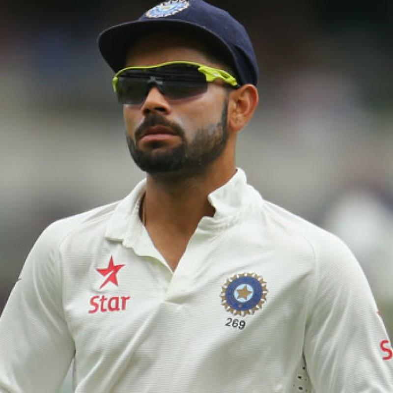 Cricket Cap Signed by the India Captain Virat Kohli