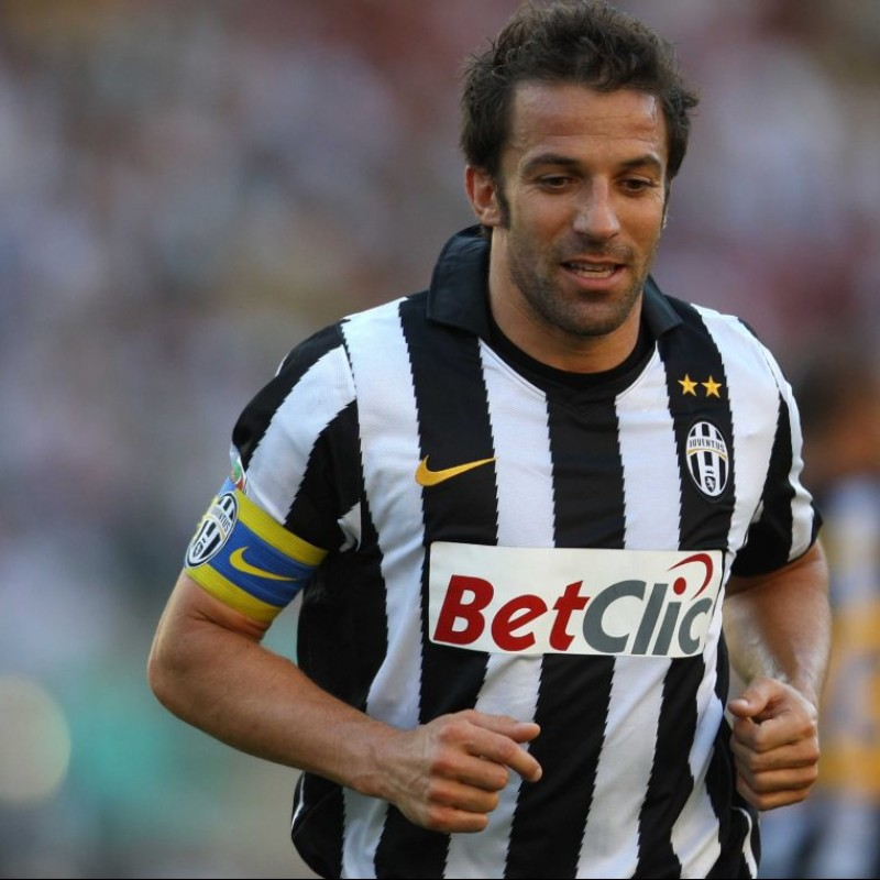 Captain's Armband - Signed by Del Piero