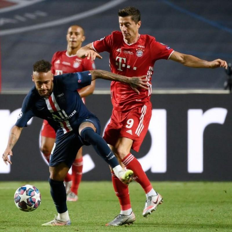 Match-Ball PSG-Bayern Munich 2020 - Signed by Lewandowski