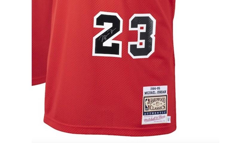 Michael Jordan Rookie Style Jersey with Digital Signature