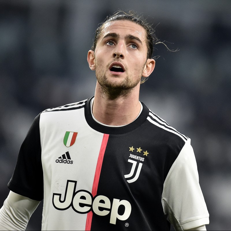 Rabiot's Worn and Unwashed Shirt, Juventus-Lazio 2020