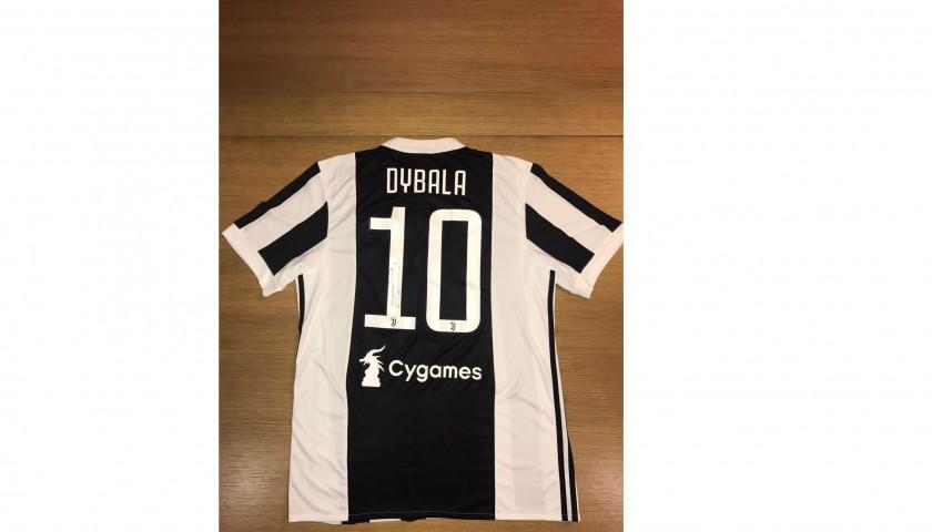 timeless design 799ce ea814 Official 2017/18 Dybala Juventus Shirt, Signed - CharityStars