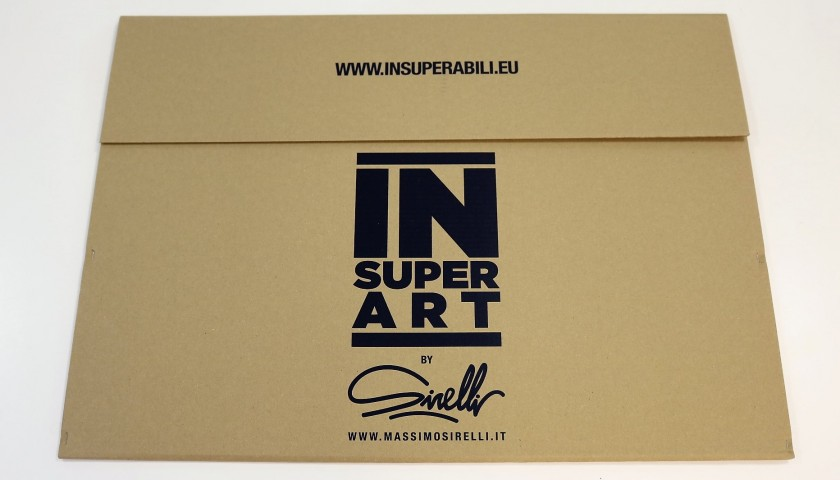 InsuperArt Lithograph by Massimo Sirelli, Signed by Chiellini