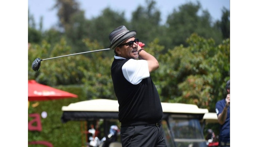 Golf with George Lopez at The Riviera Country Club in LA