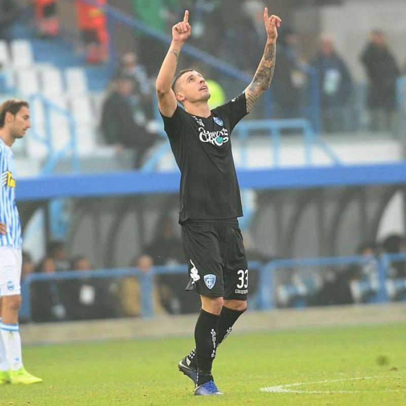 Krunic's Empoli Signed Match Shirt, 2018/19