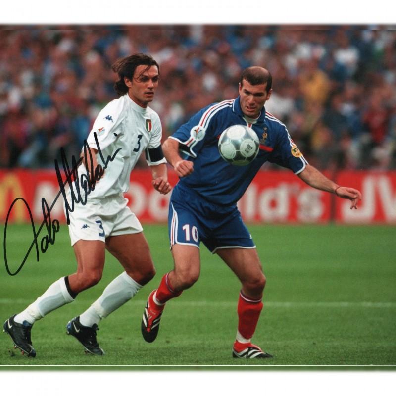 Paolo Maldini Signed Photograph