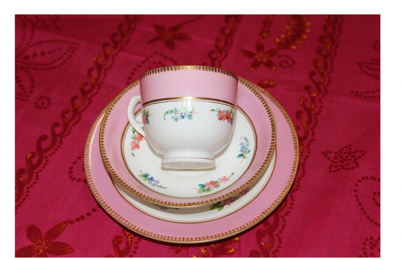 China Cup and Saucer, Set 5